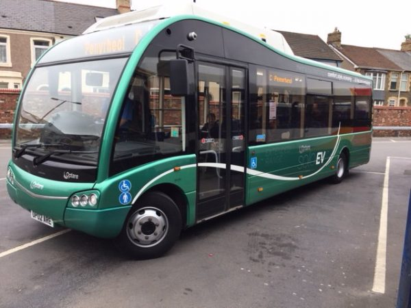 Stagecoach has previously trialled electric buses in and around Caerphilly town