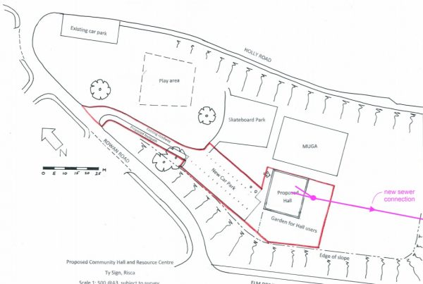 Plans for the Ty Sign Community Centre in Risca