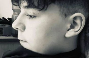 Carson Price, 13, was found unconscious at Ystrad Mynach Park