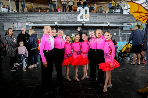 Newbridge dance group KLA performed at a special open day at the National Assembly on the bank holiday