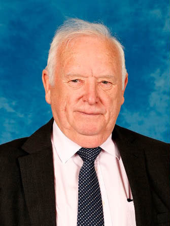 Cllr Dave Poole, ex-leader of Caerphilly County Borough Council