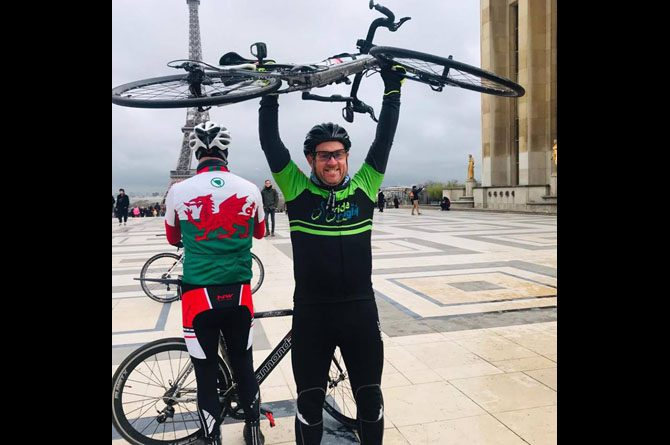 James Meacham from Blackwood will cycle 280 miles to Dublin