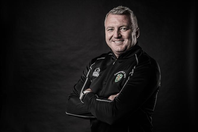 Caerphilly RFC chairman Gareth Ashman