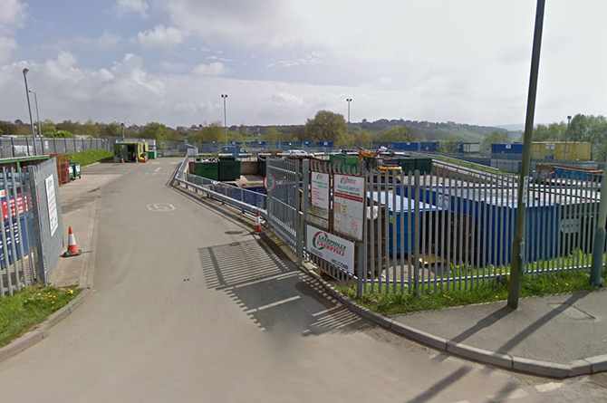 Penallta Household Waste Recycling Centre