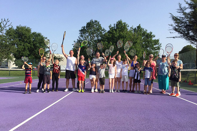 Caerphilly Tennis Club has been shortlisted for the Club of the Year award