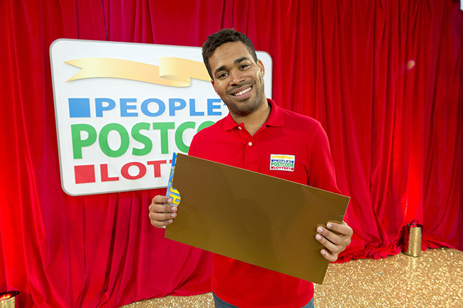 People's Postcode Lottery ambassador and former X Factor contestant Danyl Johnson