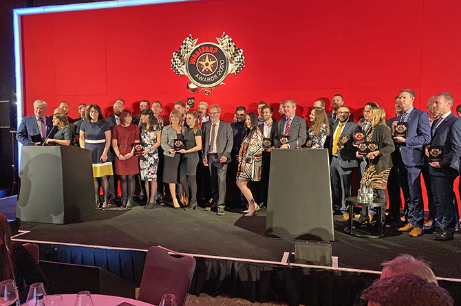 All the award winners at the ceremony, including Vantastec Ltd