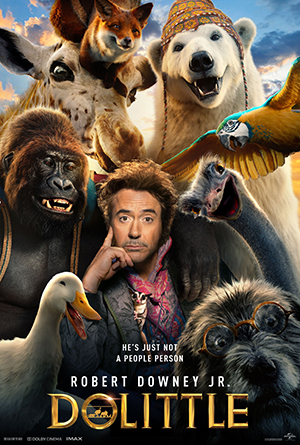 Robert Downey Jr as Dr Dolittle