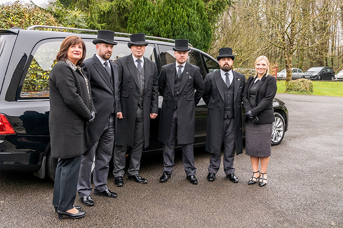 Caerphilly Funeral Services are among the nominees