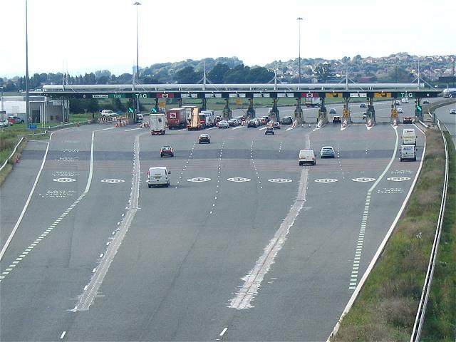 The Severn Bridge tolls on the M4