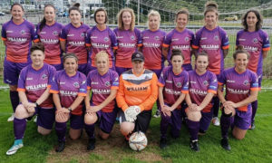 Cascade Ladies YC compete in the Welsh Premier Women's League