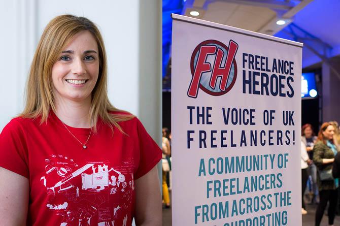 Co-founder of Freelance Heroes, Annie Browne