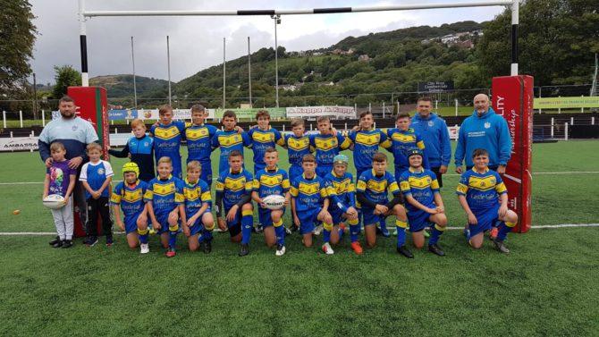 Aber Valley Wolves U12 team