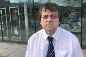 Blackwood councillor Kevin Etheridge
