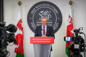 Wales' chief medical officer, Dr Frank Atherton