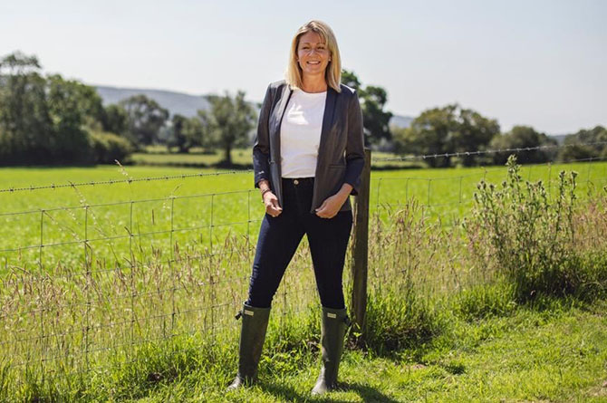 South Wales East Senedd Member Laura Anne Jones