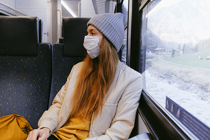 Face masks are now mandatory in public transport in Wales