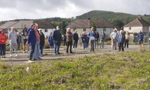 Pontymister residents met up to discuss the plans