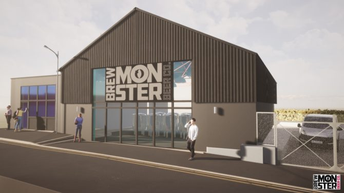 What the new Brew Monster brewery could look like if it went ahead