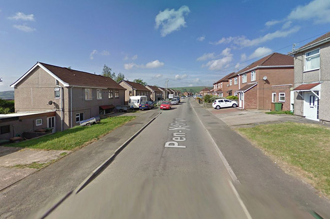The 11-year-old girl was hit by a car on Pen y Bryn, Penyrheol