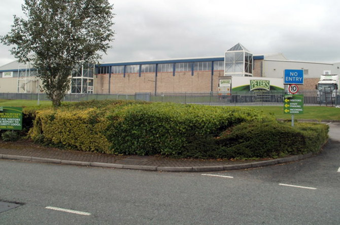 Peter's Pies factory on Bedwas House Industrial Estate