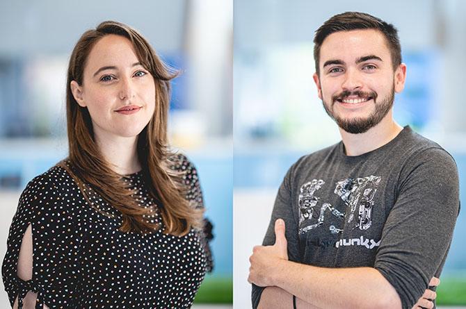 Welsh ICE's Llinos Neale and Patrick Valentino