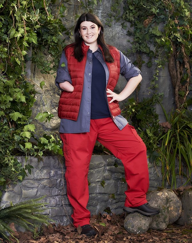 Javelin thrower Hollie Arnold is one of the contestants on this year's I'm a Celebrity: Get Me Out Of Here