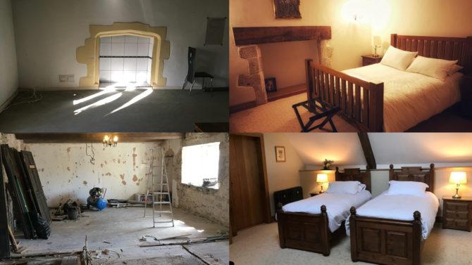 The transformation inside Van Mansion