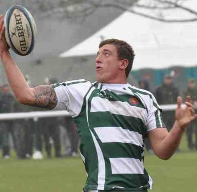 Gavin Bilton played as a second row during his rugby days