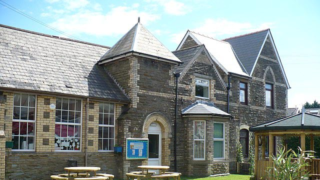 Schools like Bedwas Junior School will remain open to vulnerable pupils and children of key workers
