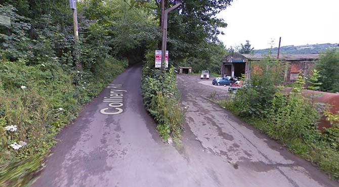 Colliery Road, Llanbradach