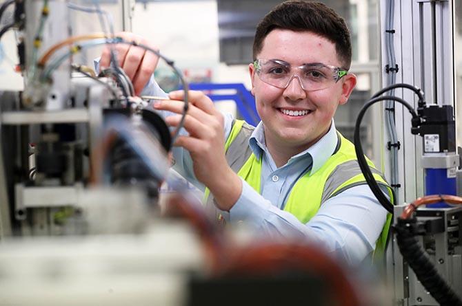 Apprenticeships Awards Cymru 2021 finalist William Davies