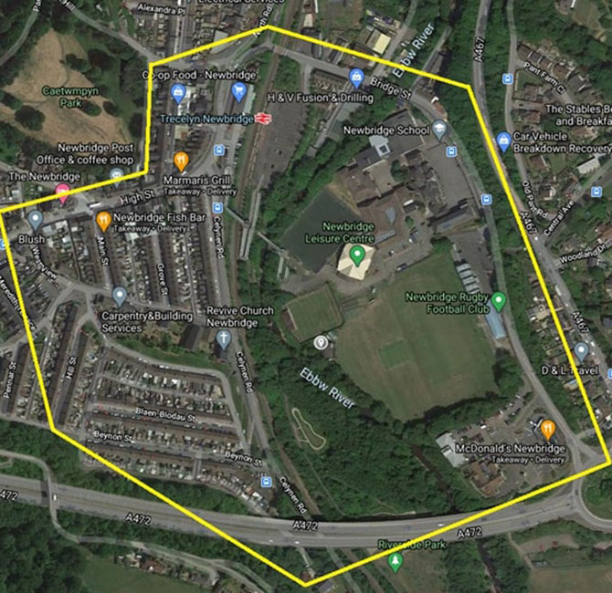 The dispersal notice will be in place in Newbridge this weekend