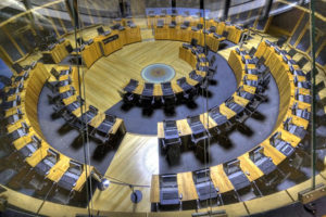 The Senedd Chamber
