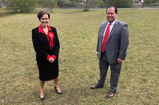 Senedd Member Dawn Bowden and MP Gerald Jones, who both represent Merthyr Tydfil and Rhymney