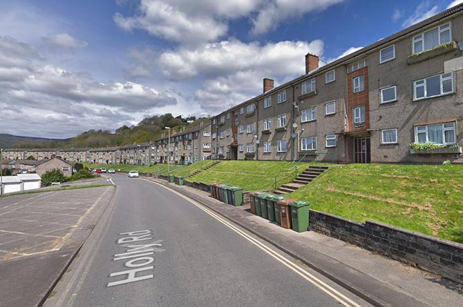 Holly Road, Ty Sign, Risca