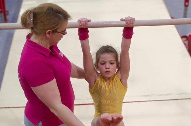 Valleys Gymnastics Academy coach Melissa Anderson is up for a national award