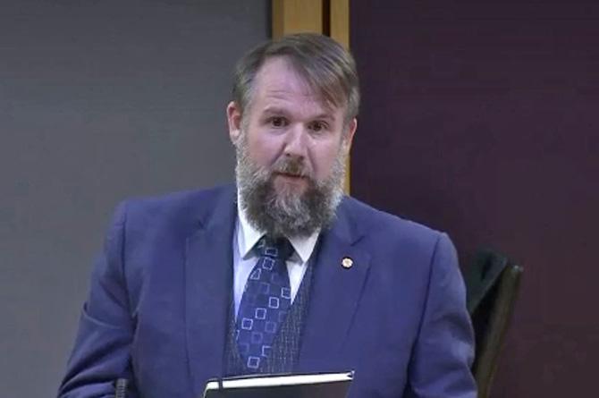 South Wales East Senedd Member Peredur Owen Griffiths