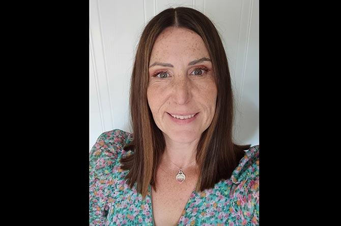 Pontllanfraith Primary School teacher Angharad Jones