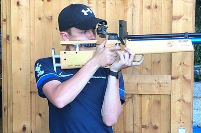 Callum Jones has been chosen to represent Great Britain in shooting