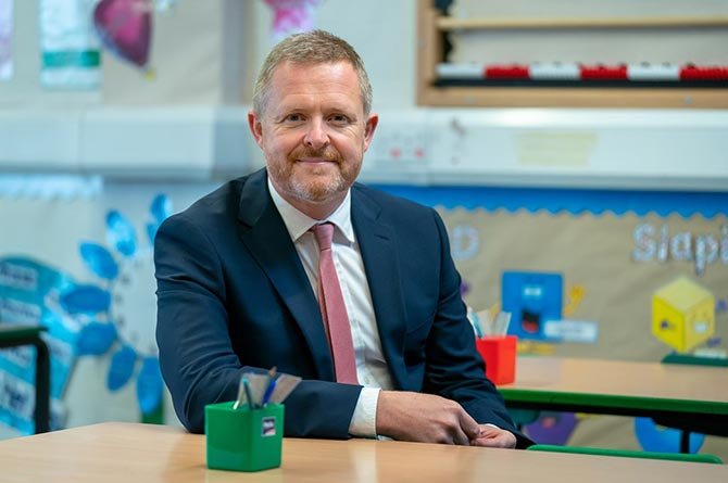 Wales' Education Minister Jeremy Miles