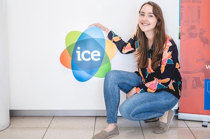 Welsh ICE Community Manager Llinos Neale