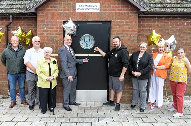 The public toilets in Nelson have been reopened