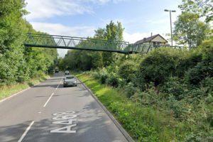 Court Road footbridge, Energlyn