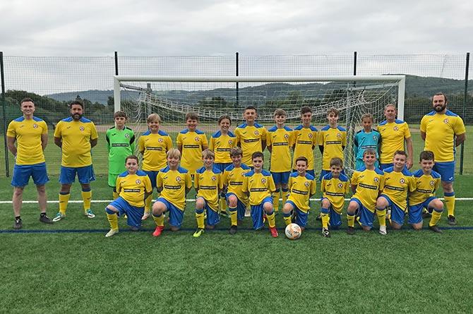 Cwrt Rawlin Football Club Under-13s