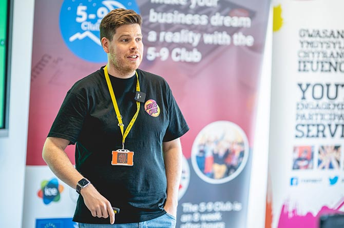 Jamie McGowan, CEO of Caerphilly-based Welsh ICE