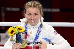 Ystrad Mynach's Lauren Price won Olympic gold in Tokyo