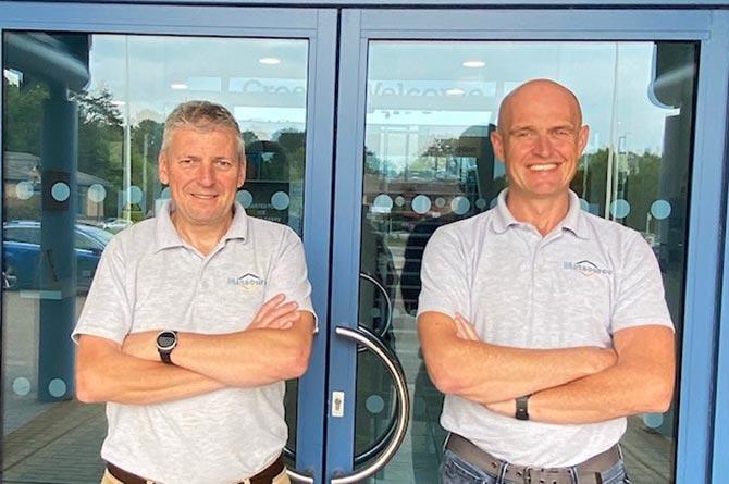 Matsource Directors Nick Robbins and Mark McGregor