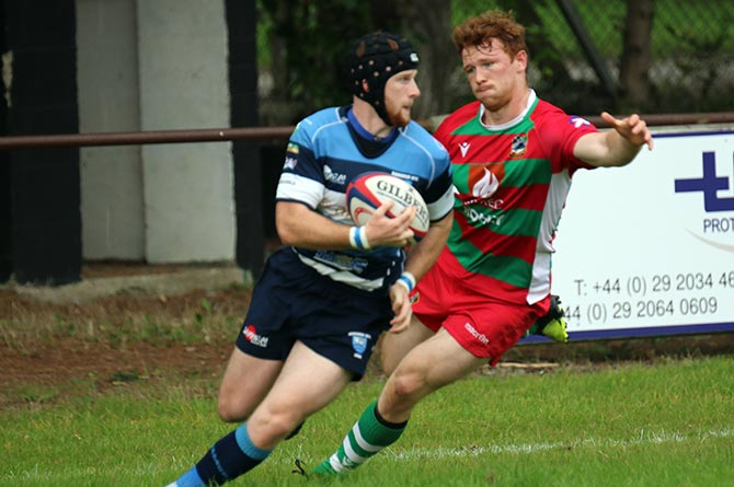 Bargoed earned a 24-22 win away to Bedwas
