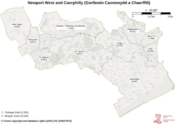 Proposals for the new Newport West and Caerphilly
